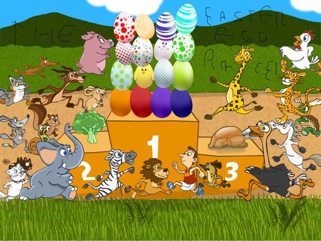The Easter Egg Race! by Valeria Ferradas