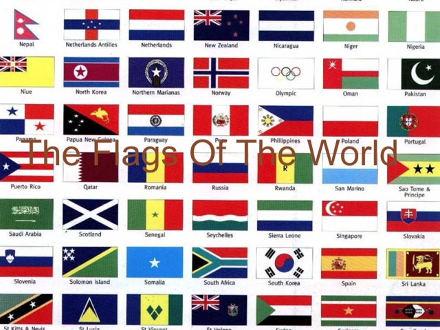 The Flags Of The World by Christopher Darch