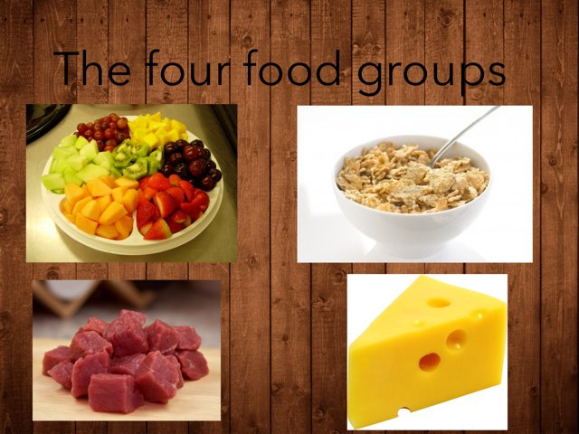 The Four Food Groups by Jennifer Alexander