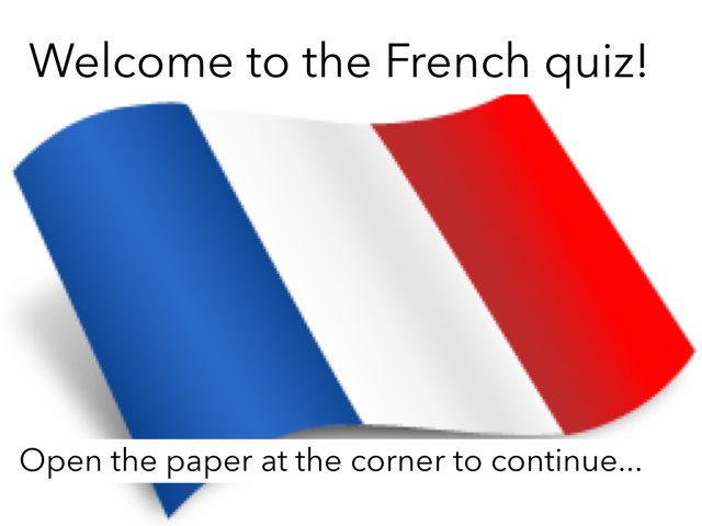 The French Quiz! (By Darren)  by French Kellett