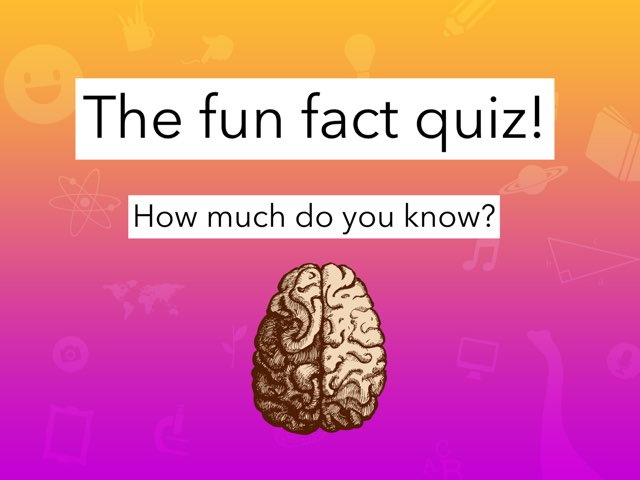 The Fun Fact Quiz by Charlotte Harden