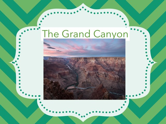 The Grand Canyon by Hulstrom 1st Grade