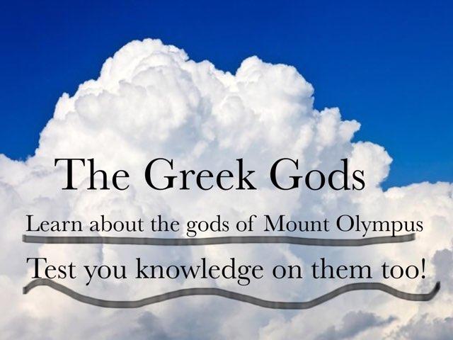 The Greek Gods by John Ferrero