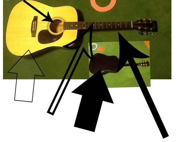 The Guitar by Barbi Bujtas
