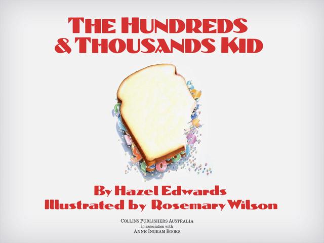 The Hundreds & Thousands Kid by Hazel Edwards