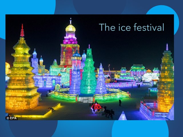 The Ice Festival by Houssam el zein