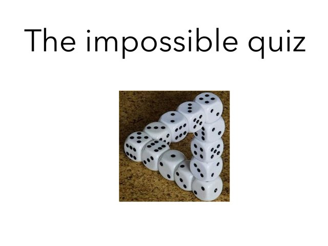 The Impossible Quiz  by Xavia smith
