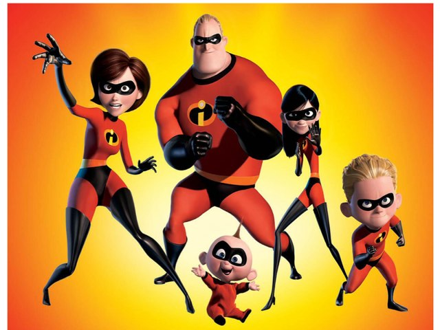 The Incredibles  by Barbi Bujtas