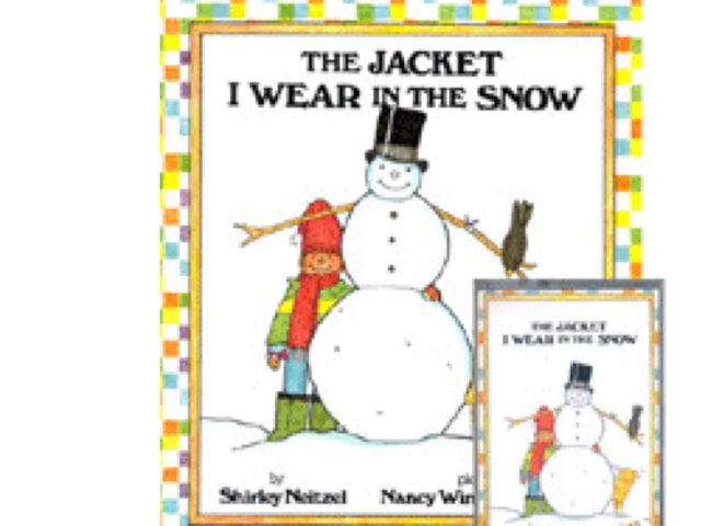 The Jacket I Wear In The Snow Comprehensionsx by Madonna Nilsen