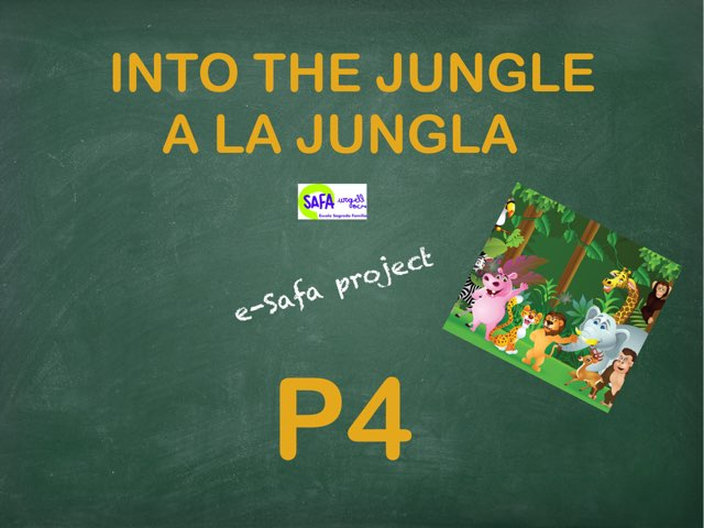 The Jungle Vocabulary by IE Londres c/urgell