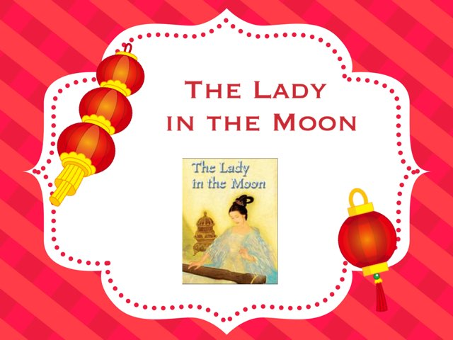 The Lady In The Moon Vocabulary by Jennifer Klostermann