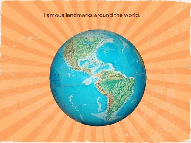 The Landmark Game. by Sandford Hill