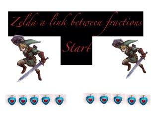 The Legend Of Zelda A Link Between Fractions by Kara Fujimoto