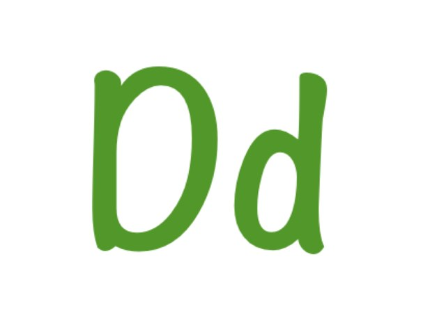The Letter D by Curtis Crockett