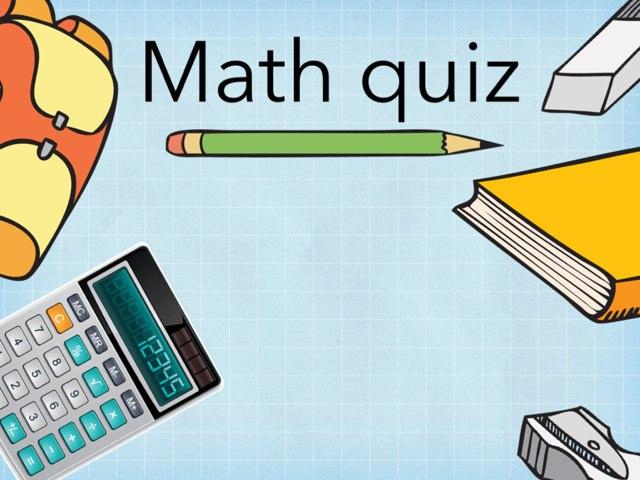 The Math Quiz by Naya Barakat