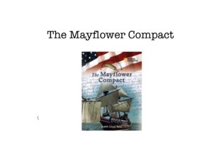 The Mayflower Compact by Liz Castagnera