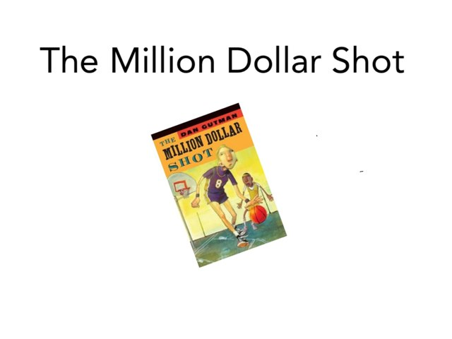 The Million Dollar shot the game by John Carter
