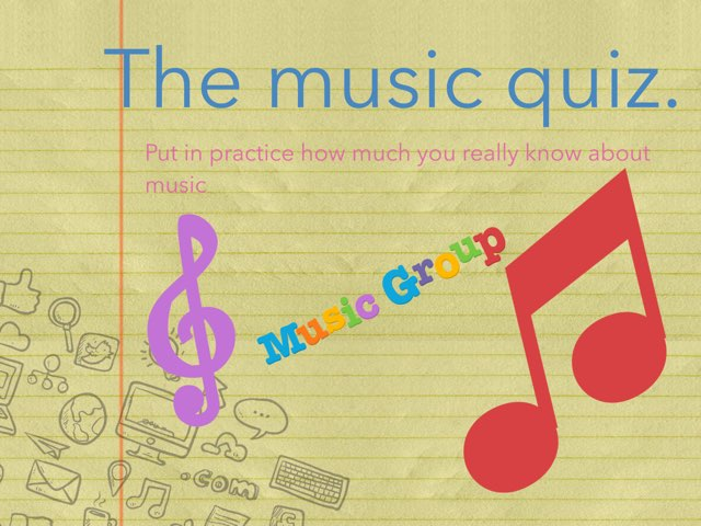 The Music Quiz by Allison Patiño