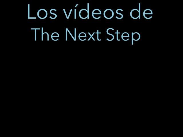 The Next Step 2 by Alba Calvo Simo