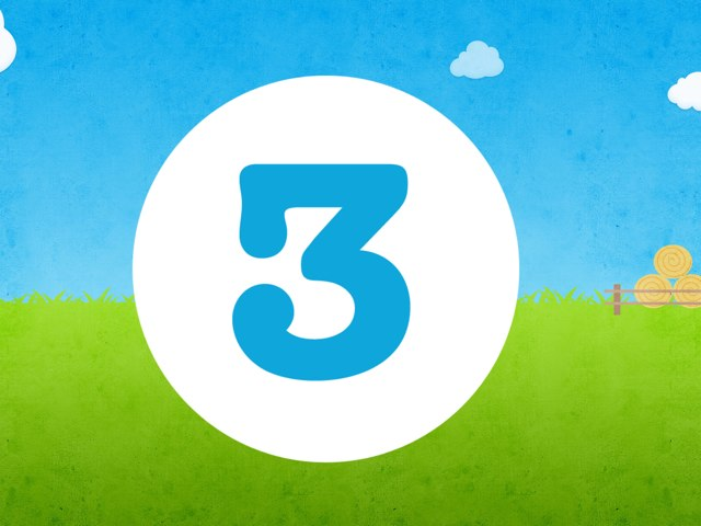 The Number 3 by Aliesha Davies