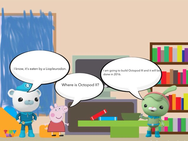 The Octonauts And The Liopleurodon by George awrahim
