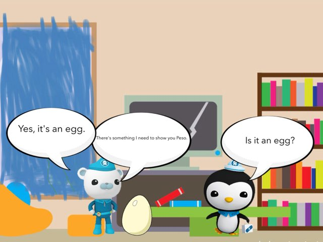 The Octonauts And Tobias And Parrot by George awrahim