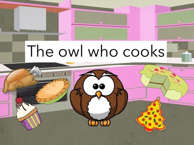 The Owl Who Cooks by Jennifer Riu