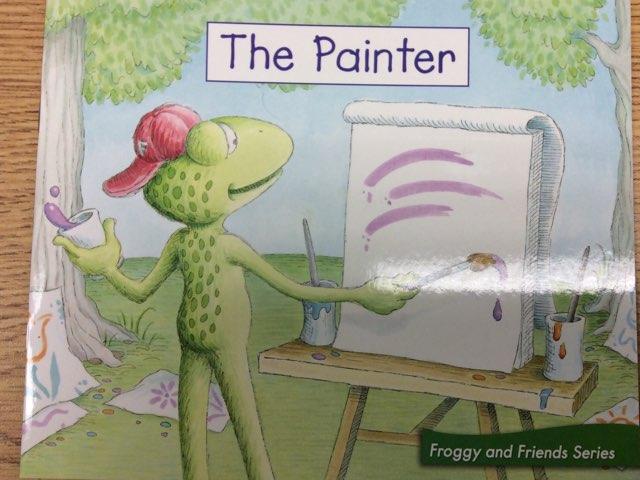 The Painter LLI Green Book 13 Level A by Chanel Sanchez