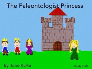 The Paleontologist Princess by Elise K_212