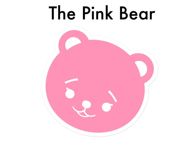 The Pink Bear by Tala Bayado