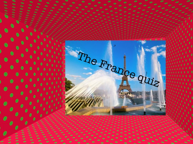 The Pop Quiz From France by Summer School
