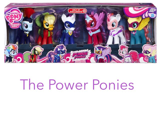 The Power Ponies by Vinyl  Scratch