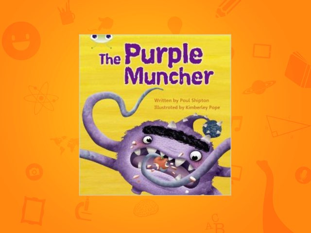 The Purple Muncher by Laura Scrubbing
