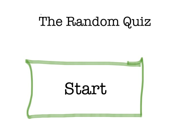 The Random Quiz 1. by Jonathan Oswald
