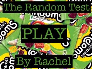 The Random Quiz by Lil Saleh