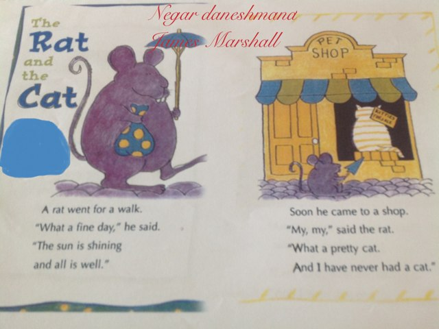 The Rat And The Cat by Negar Daneshmand