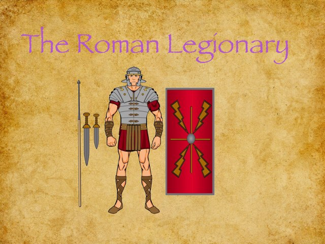 The Roman Legionary by Tom Gibson