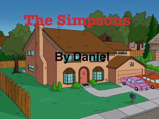 The Simpsons by Daniel Bradwell
