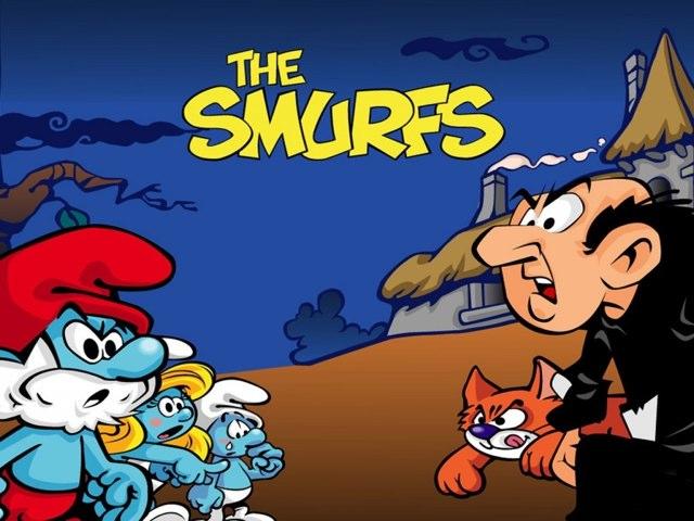 The Smurfs by uri lazar