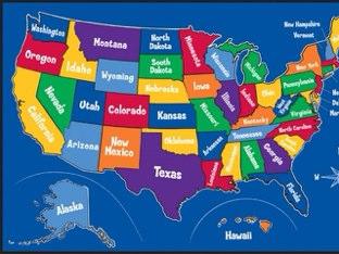 The States by Sarah Mangel-Mammucari