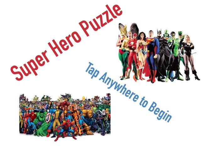 The Superhero Quiz by CSP