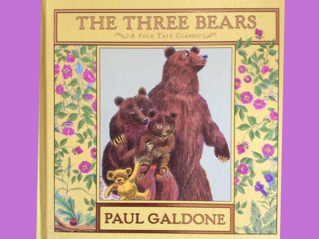 The Three Bears by Gina Gioscia