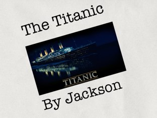 The Titanic by Jamie Roth