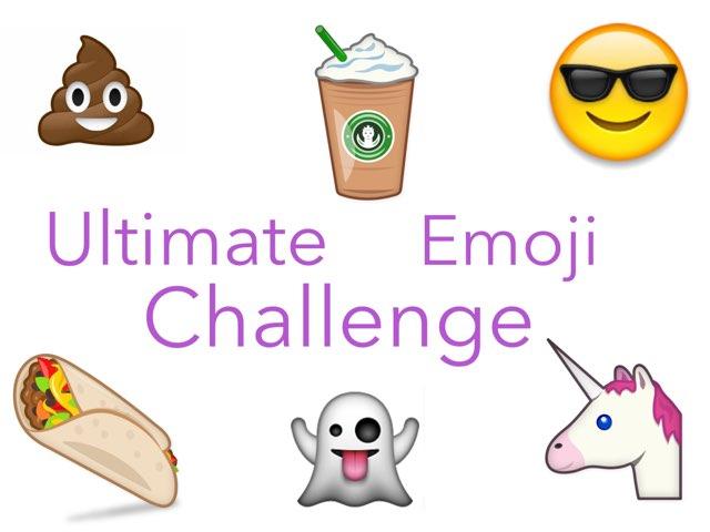 The Ultimate Emoji Challenge  by Lotti Yau