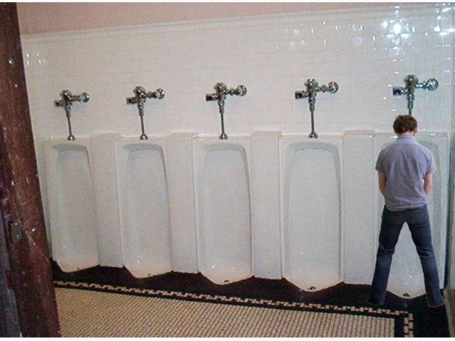 The Urinal Test by uri lazar