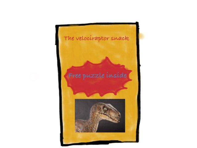 The Velociraptor Snack by Anurag Simha
