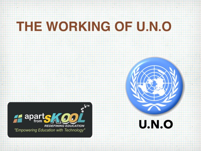 The Working Of U.N.O by TinyTap creator