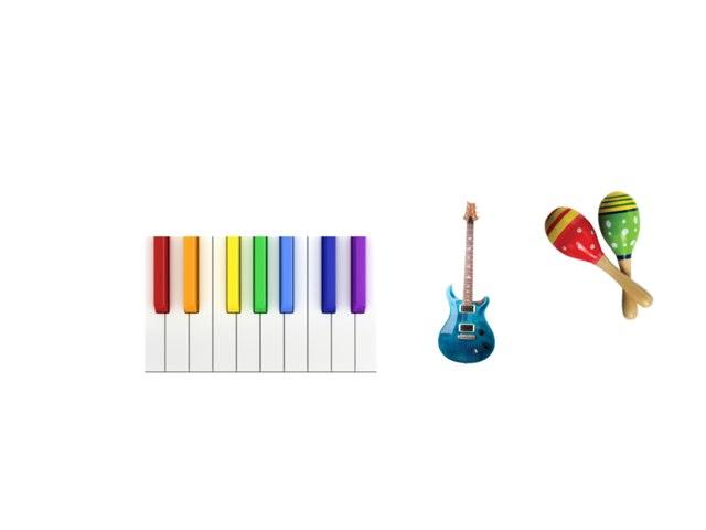 The World Of Instruments by Carolina Pagani