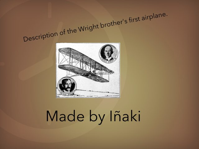The Wright Brother's by Inaki Morquecho