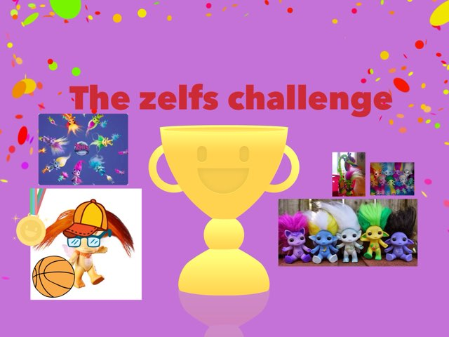 The Zelfs Challenge by Samantha Cassidy
